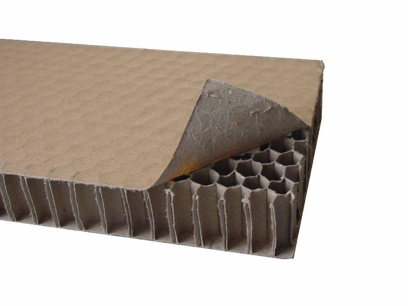 纸蜂窝产品具有轻巧合理的仿生学结构和优良的应用性
